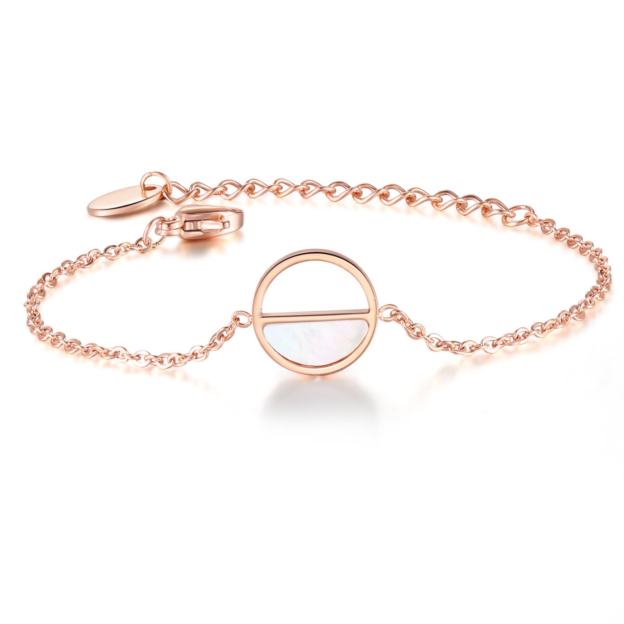 Seashell Bracelet Rosé Gold