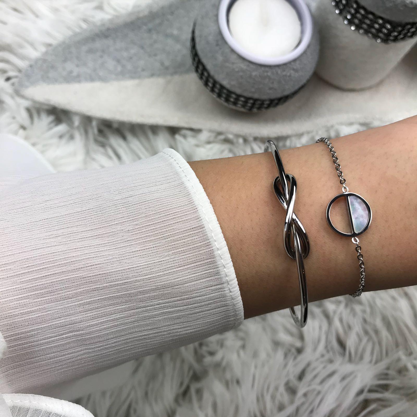Seashell Bracelet Silver