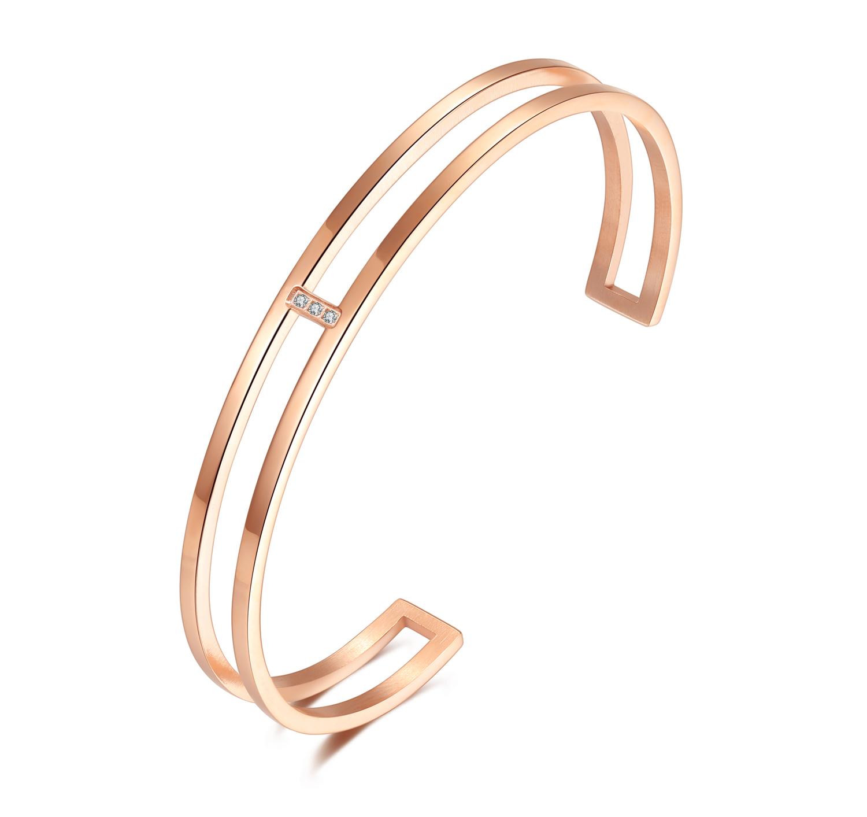 Stones Bracelet Rosé Gold