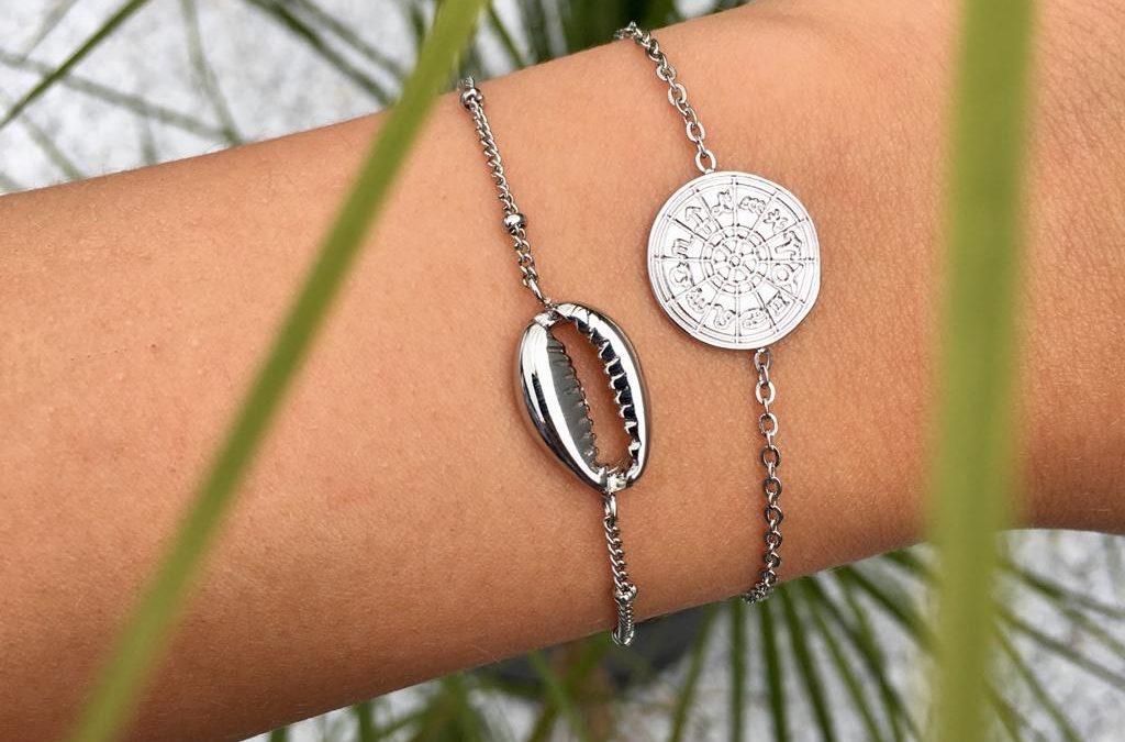 Geschenkset Seashell Silber